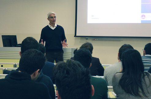 Gherardo Spinola al master in Finanza Sostenibile dell'Università Cattolica